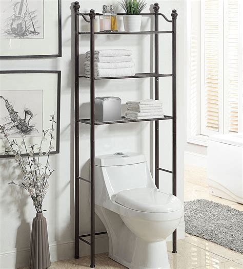 toilet bathroom shelves    toilet shelving
