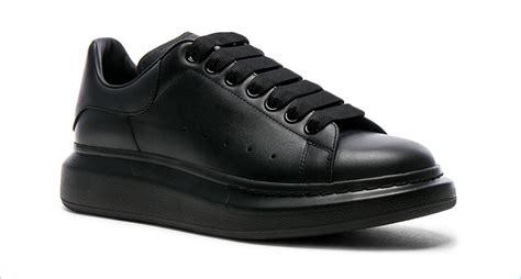 platform leather sneakers mcqueen 39 s platform sneakers
