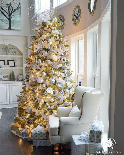 best 25 silver christmas tree ideas on pinterest white