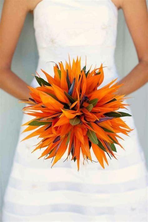 tropical flair en  bouquet mariee exotique bouquet