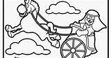 Chariot Elijah sketch template