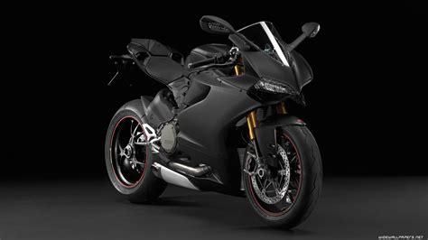Black Ducati 1199 Hd Wallpaper