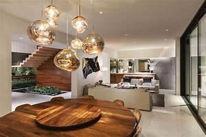 Luminaire Fait Maison : suspension luminaire dans les pi ces d 39 une maison mexicaine ~ Melissatoandfro.com Idées de Décoration