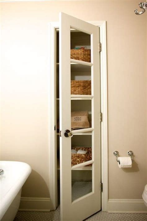 bathroom closet door ideas bathroom linen cabinet design ideas