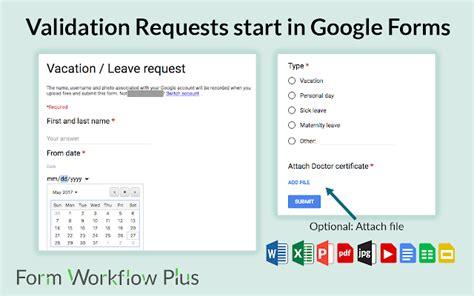 form workflow  add  google sheets add