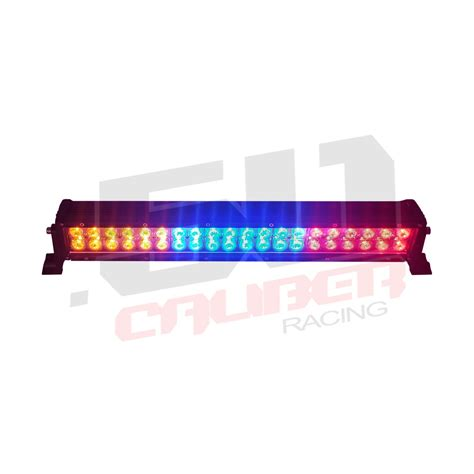 multicolor 22 inch led light bar with wireless