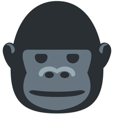 gorilla emoji