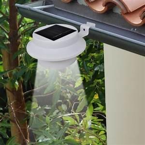 Lampe Exterieur Solaire : lampe solaire extrieur jardin blanche ~ Edinachiropracticcenter.com Idées de Décoration