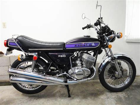 Kawasaki H2 Image by Restored Kawasaki H2 750 1975 Photographs At Classic