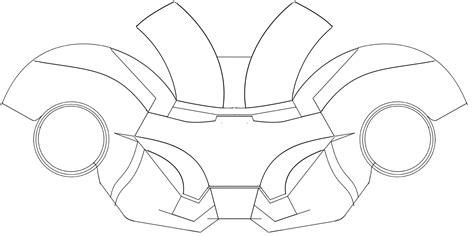 printable iron man helmet papercraft printable papercrafts printable papercrafts