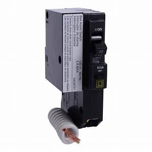 Square D Qo120epd2100   Miniature Circuit Breaker 120v 20a