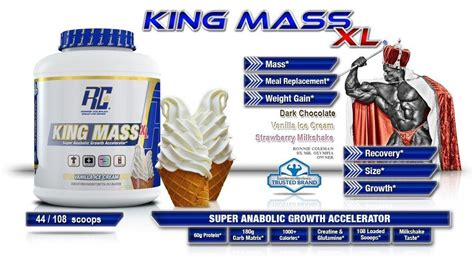 ronnie coleman king mass xl 108 scoops ronnie coleman signature series