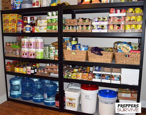 Short Term & Long Term Food Supply   Preppers Survive