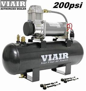 Viair 20007 380c Air Compressor 200psi On Board System Kit