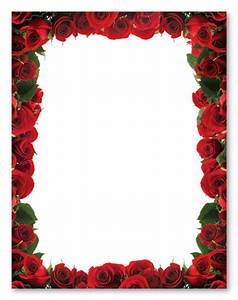 10 Best Images of Printable Borders Black And White Rose ...
