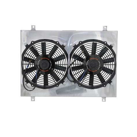 dual electric fans with shroud mishimoto electric radiator fan dual 12 quot with shroud 1979