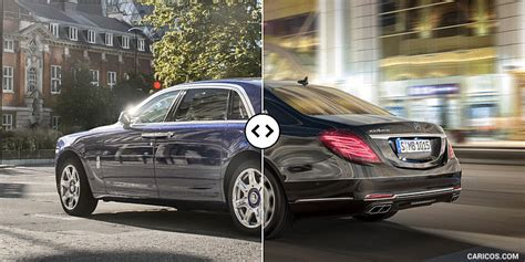 Rolls Royce Vs Maybach by Rolls Royce Ghost Ii Extended Vs Mercedes Maybach S600