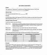 Attorney Resume: Attorney Retainer Agreement Template