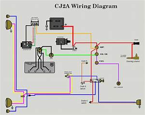 12 Volt Alternator Wiring Diagram : 12v wiring diagram the cj2a page forums page 1 ~ A.2002-acura-tl-radio.info Haus und Dekorationen