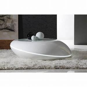 Table Basse Galet Led : tables basses tables et chaises galet table basse design ~ Melissatoandfro.com Idées de Décoration