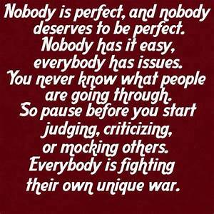 Nobody Is Perfect Möbel : nobody is perfect and nobody deserves to be perfect ~ Bigdaddyawards.com Haus und Dekorationen