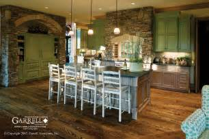 house plans with kitchen in front amicalola cottage rustic style house plan