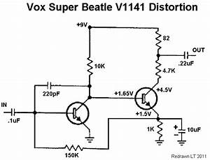 Vox Super Beatle Distortion  Fuzz Germanium