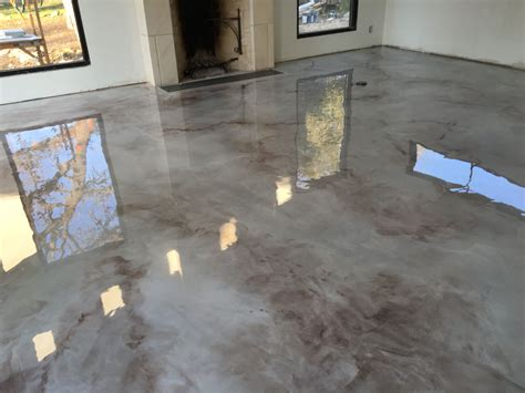 Floor Paint Marble by Csm Concrete Coatings Epoxy Metallics Marble Floors