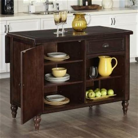 Home Styles Country Comfort Aged Bourbon Kitchen Island