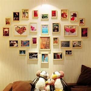 Wand Mit Fotos Dekorieren : zeit f r kunst 48 wanddekoration ideen ~ Markanthonyermac.com Haus und Dekorationen