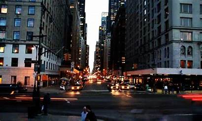 Traffic Cars Animated Favim Street Road Night