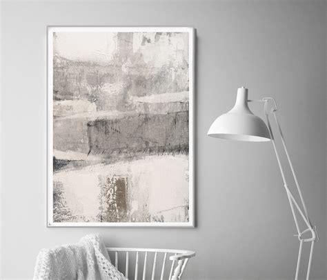 beige minimalist painting scandinavian print  semelart