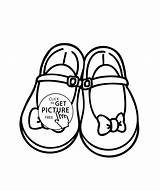 Coloring Shoes Pages Shoe Printable Pretty Booties Clipart Bows Drawing Sheets Sandal Sheet Drive Clip Running Babies sketch template