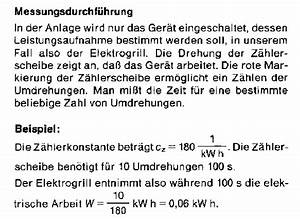 Umdrehungen Berechnen : strom z hler ~ Themetempest.com Abrechnung