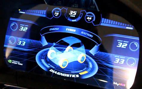 nvidias tegra team shows  car dashboards   future