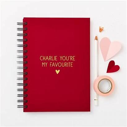 Notebook Message Hardback Personalised Notonthehighstreet Martha Brook