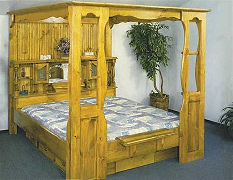 canopy waterbed frames bedroom ideas pictures
