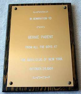 2 congratulatory plaque displays parent letter for Letter plaques