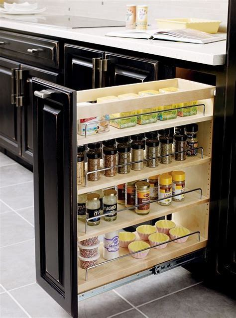 base pantry pullout thomasville kitchen projects