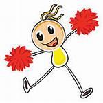 Cheerleading Clipart Clip Pompoms Cheerleader Pom Poms