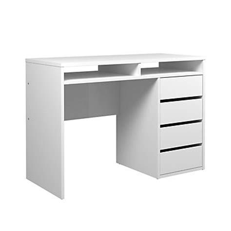 bureau blanc but soldes meuble bureau et ordinateur pas cher but fr