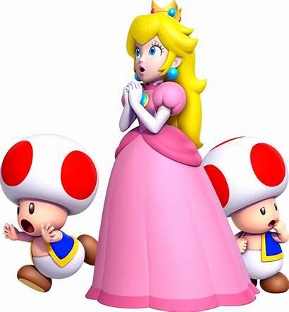 Mario Peach Princess Bros Super Background Toads
