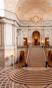 Interior of San Francisco City Hall   The City Hall of San ...