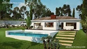 Maison Architecte Plain Pied : maison d 39 architecte moderne plain pied ~ Melissatoandfro.com Idées de Décoration