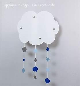 Applique Murale Chambre Bébé : applique nuage b b pour r ver fabrique casse noisette ~ Nature-et-papiers.com Idées de Décoration