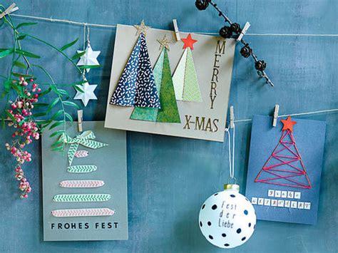 ideen weihnachtskarten basteln weihnachtskarten selber basteln die sch 246 nsten diy ideen lecker