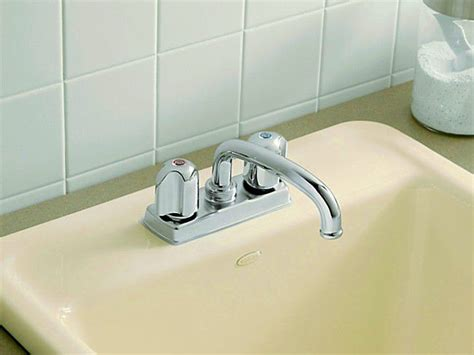 repairing a kitchen faucet repair a compression washer faucet