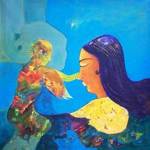 Products - Mother & Child( Figurative Painting ...
