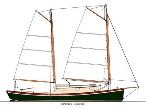 Sailing Boat Plans by Sharpie 31 5 Egret Woodenboat Magazine