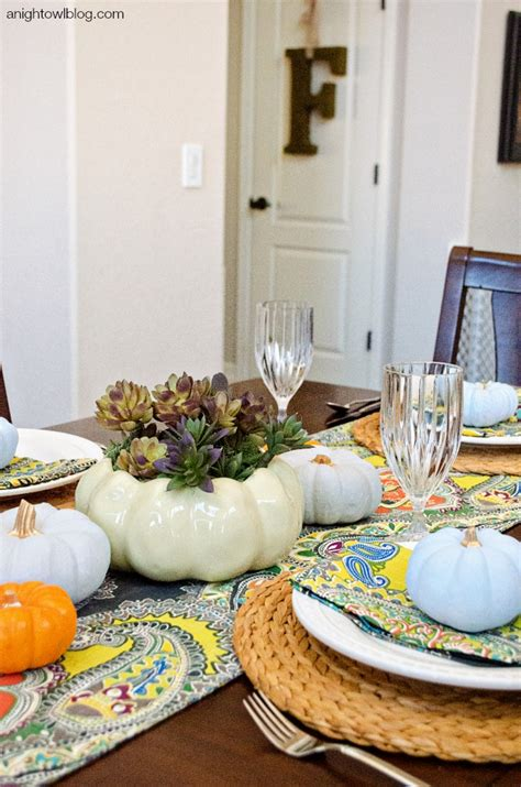 beautiful thanksgiving tablescapes resin crafts